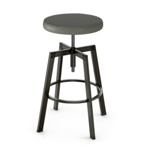 Architect Screw Stool (cushion) ~ 42563 by Amisco