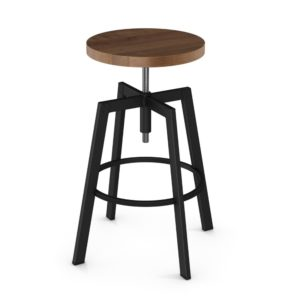 Architect Screw Stool (wood) ~ 42563 by Amisco