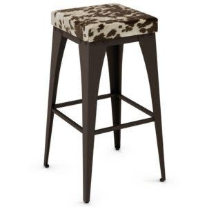Upright Non swivel stool (cushion) ~ 42564 by Amisco