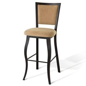 Juliet Non swivel stool (cushion) ~ 45303 by Amisco