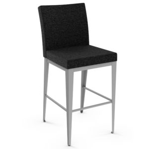 Pablo Plus Non-Swivel Stool w/ Quilted Fabric ~ 45304Q by Amisco
