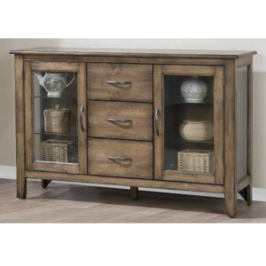 Carmel 54″ Sideboard (Rustic Brown) by Winners Only