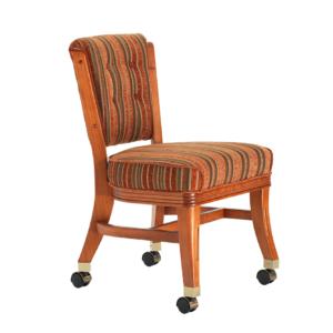 960 Armless Club Chair w/ Casters by Darafeev