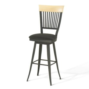 Annabelle Swivel Stool (cushion) ~ 41419 by Amiscop