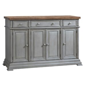 Barnwell 58″ Sideboard (Rustic Brown 2 / Gray 2) by Winners Only
