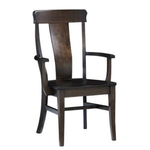 Bartlett Arm Chair by Amish Crafted by Noah Bontrager
