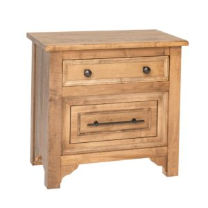 Beacon Hill 2-Drawer Nightstand by Amish Crafted by Noah Bontrager