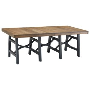 Beacon Hill Trestle Table by Amish Crafted by Noah Bontrager