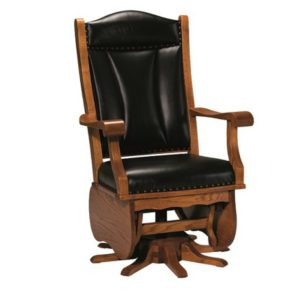 Belton Swivel Glider by Amish Crafted by Noah Bontrager