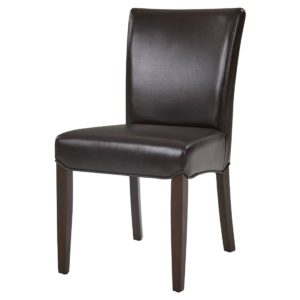 Beverly Hills Bonded Leather Chair Black by New Pacific Direct