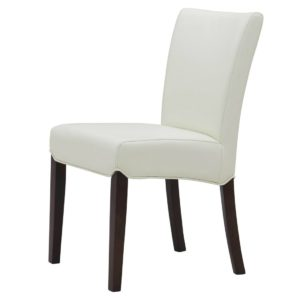 Beverly Hills Bonded Leather Chair White by New Pacific Direct