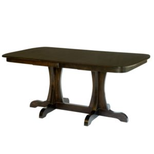 Bridgeport Double Pedestal Table by Amish Crafted by Noah Bontrager