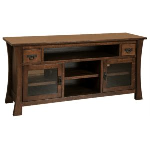 Brigham 69″ TV Cabinet by Amish Crafted by Noah Bontrager