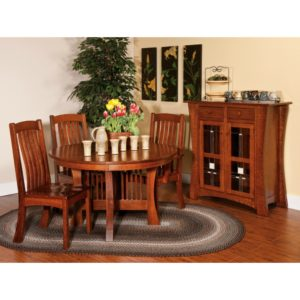 Brigham Dining Collection by Amish Crafted by Noah Bontrager