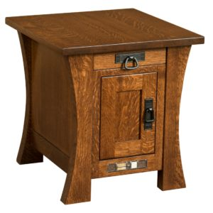 Brigham End Table by Amish Crafted by Noah Bontrager