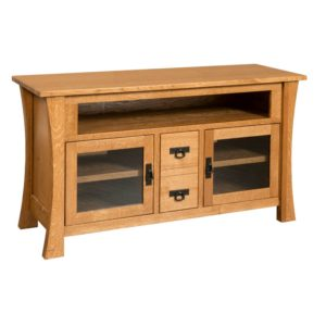 Brigham 59″ TV Cabinet by Amish Crafted by Noah Bontrager