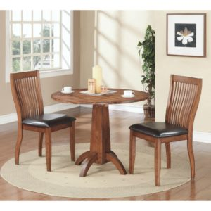 Broadway 3-Piece Dining Set (Acacia) by Winners Only