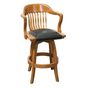 Courthouse 5860B Swivel Barstool by JS Products