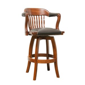 Courthouse 5860C Swivel Barstool by JS Products