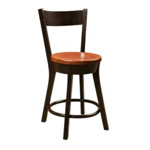 Cape Cod Stationary Bar Chair by Amish Crafted by Noah Bontrager