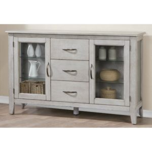 Carmel 54″ Sideboard (Gray) by Winners Only
