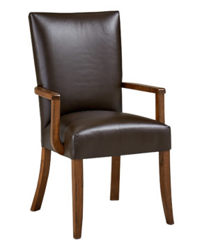 Caspian Arm Chair by Amish Crafted by Noah Bontrager