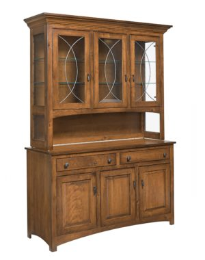 Caspian Hutch by Amish Crafted by Noah Bontrager