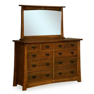 Castlebrook 9-Drawer Dresser by Amish Crafted by Noah Bontrager
