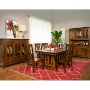 Castlebrook Dining Collection by Amish Crafted by Noah Bontrager