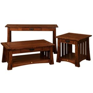 Castlebrook Sofa Table by Amish Crafted by Noah Bontrager