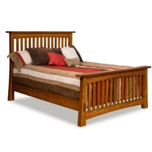 Castlebrook Slat Bed by Amish Crafted by Noah Bontrager