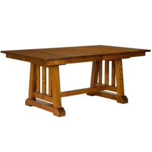 Castlebrook Table by Amish Crafted by Noah Bontrager