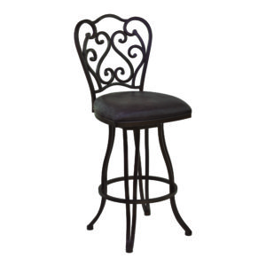 Celeste Swivel Barstool by Lee Jay