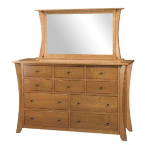 Chandler 10-Drawer Dresser by Amish Crafted by Noah Bontrager