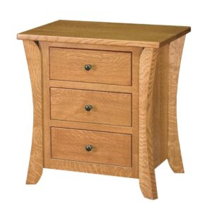 Chandler 3-Drawer Night Stand by Amish Crafted by Noah Bontrager