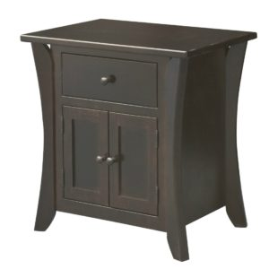 Chandler Drawer & Doors Night Stand by Amish Crafted by Noah Bontrager