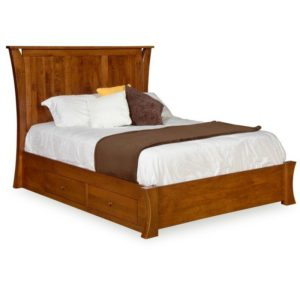 Chandler Bed w/ Storage by Amish Crafted by Noah Bontrager