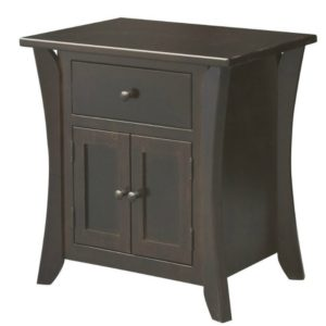 Chandler 1 Drawer, 2 Door Nightstand by Amish Crafted by Noah Bontrager