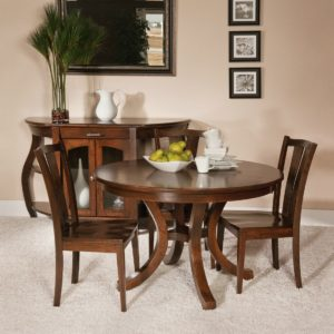 Charleston Dining Collection by Amish Crafted by Noah Bontrager