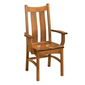 Classic Arm Chair by Amish Crafted by Noah Bontrager