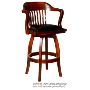 Courthouse 5860E Swivel Barstool by JS Products