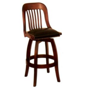 Courthouse 5855 Swivel Barstool (No Arms) by JS Products