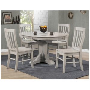 Carmel 5-Piece Dining Set (Gray) by Winners Only
