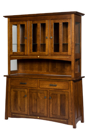 Castlebrook Hutch by Amish Crafted by Noah Bontrager