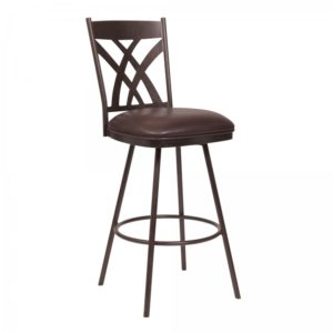 Clover Swivel Stool (Auburn Bay) by Lee Jay