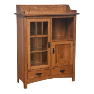Dover Pottery Cabinet by Amish Crafted by Noah Bontrager