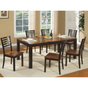 Fifth Avenue 7-Piece Dining Set (Acacia) by Winners Only