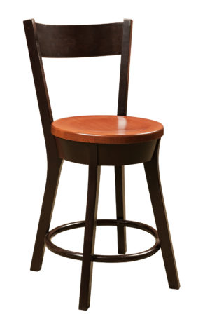 Cape Cod Swivel Bar Chair by Amish Crafted by Noah Bontrager