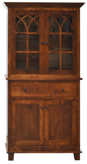 Hatfield Hutch by Amish Crafted by Noah Bontrager