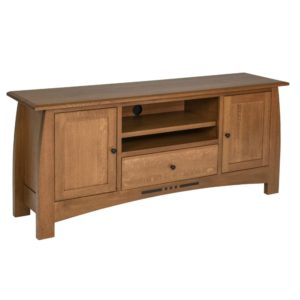 Hayworth 74″ Entertainment Console by Amish Crafted by Noah Bontrager